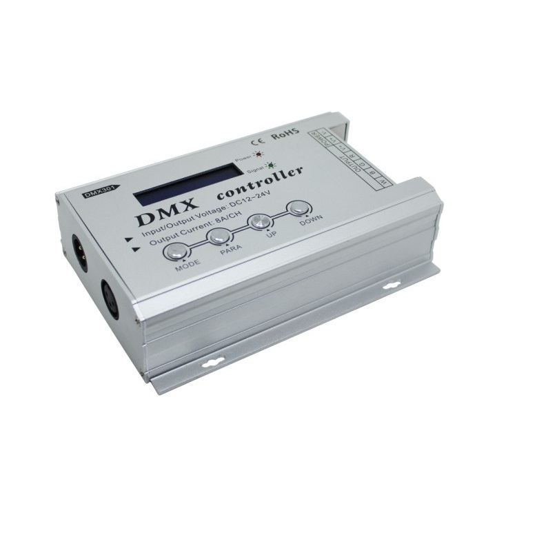 Low-voltage DMX controller DMX301