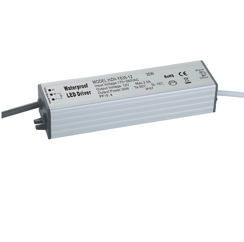 Waterproof LED driver 30W